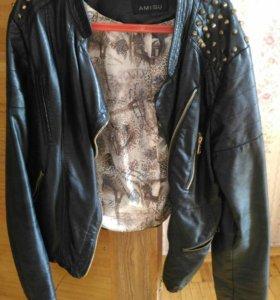 Куртка весенняя косуха Amisu