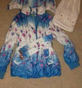 Куртка весна.5-7лет