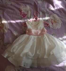 Красивое платья для принцессы