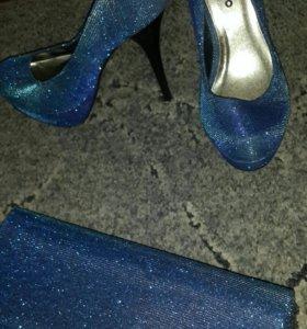 Новые туфли и клатч