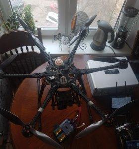 Радиоуправляемый гексакоптер DJI S800