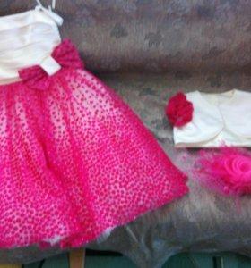 Платье на девочку 7-8 лет