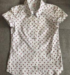 Рубашка рост до 164 размер 40.