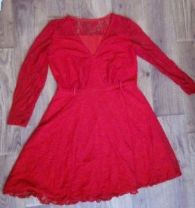 Платье гипюровое