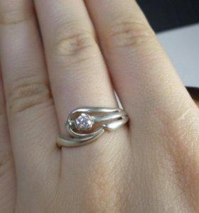 Серебряное кольцо 20р
