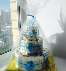 Тортик из подгузников