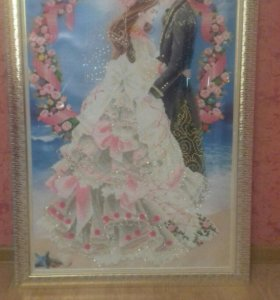 """Картина алмазная мозаика """"Свадебная церемония"""""""