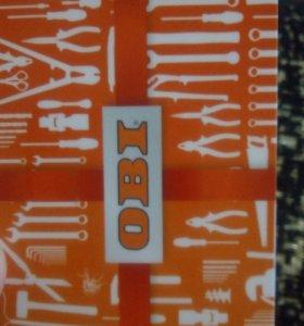 Подарочная карта OBI номиналом 4000