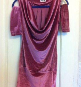 Платье трансформер с рукавами