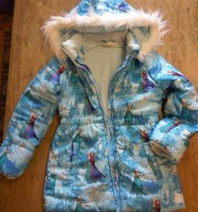 Куртка 7-8 лет, рост 128