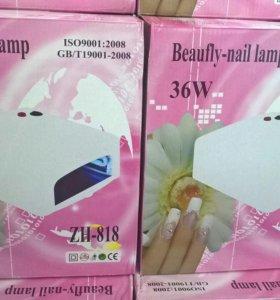 Уф лампа 36 вт в наборе для гель-лака