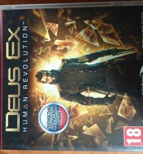 Игра для ps3 DEUS EX HUMAN REVOLUTION