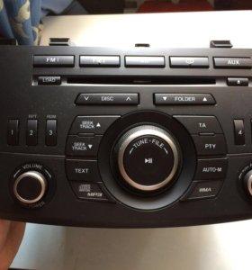 Магнитола мазда3, Mazda3