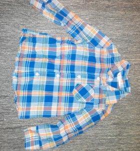 Рубашка б/у р.92 полномерный