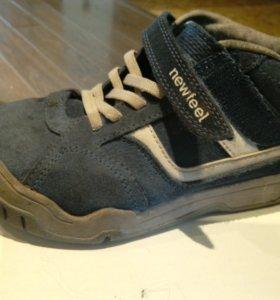 Ботинки осенние кожаные р 34