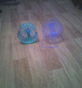 Колесо для хомяка в клетку и беговое колесо