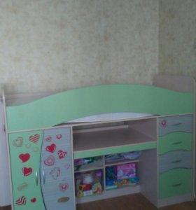 Детская кровать б.у.г.Подольск,Просторы