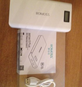 POWER bank ROMOSS sense 6 PLUS (20000 mAh)