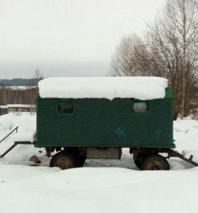 Жилой вагон!