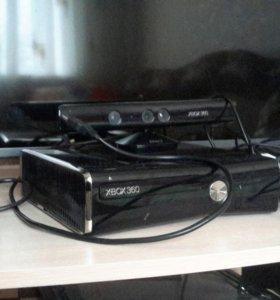 Xbox 360 Slim+kinect+лицензионные игры.Срочно!