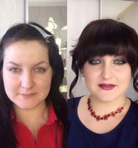 Макияж и причёска любой сложности