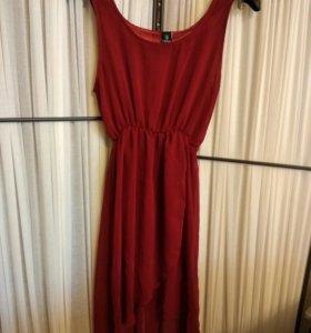 Шифоновое платье (новое)