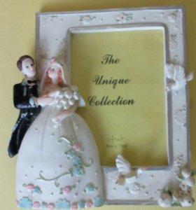 Рамка для свадебного фото