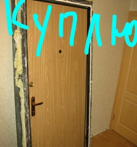 дверь метал 90 б/у