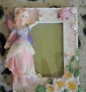 Рамка для фото принцессы