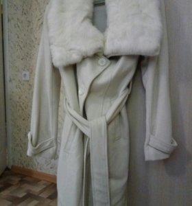 Кашемировое пальто Love republic