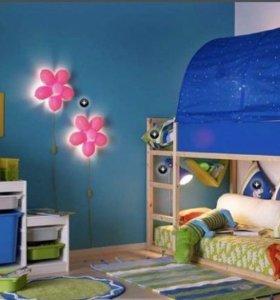 Кровать Кюра ИКЕА + новый матрас