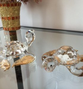 Черепашки стекло