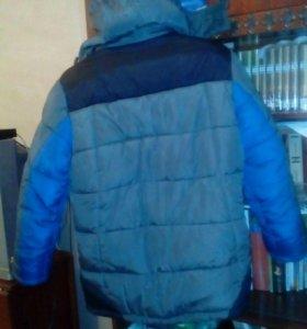 Куртка мальчиковая зимняя