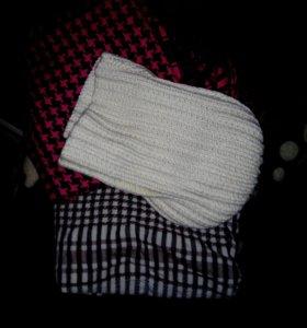 шарф + шапка