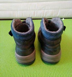 Демисезонные ботинки Котофей, 31размер