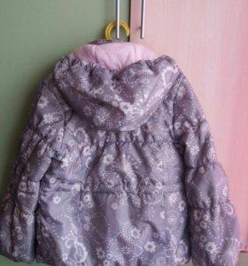 Курточка весенняя для девочки, рост 128