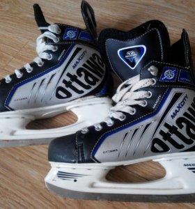 Коньки хоккейный ottawa 42р
