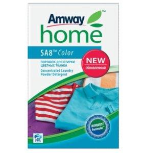 Порошок для стирки цветных тканей (Амвей) 3кг.