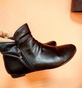 Демисезонные ботинки, 38