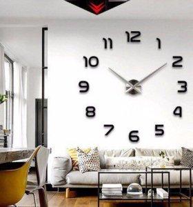 Огромные настенные часы