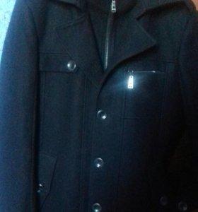 Пальто пиджак драповый новый