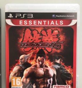 Игра PS3 TEKKEN 6. Новый.