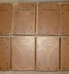 А. С. Пушкин Сочинения и письма 1909г в 8-ми томах