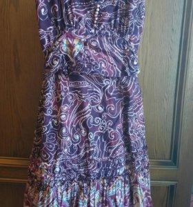Сарафан Маngo бу, платье