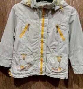 Куртка-ветровка на девочку Kiko