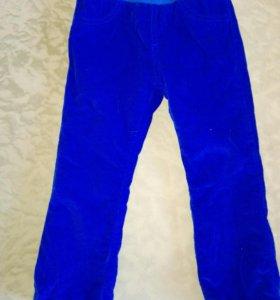 Вельветовые брюки весна—осень размер 92