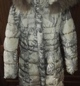Детское пальто-пуховик