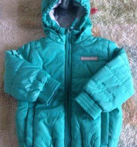 Новая куртка р. 98