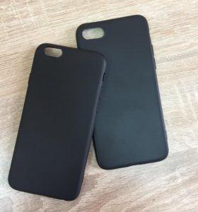 Тонкие бесшовные матовые чехлы для iPhone 6/6s/7