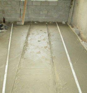Выполним бетонные работы